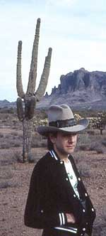 Andy in the Desert in those good ol' days...