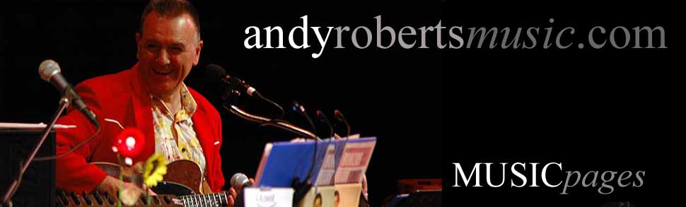 Andy Roberts Music pages banner